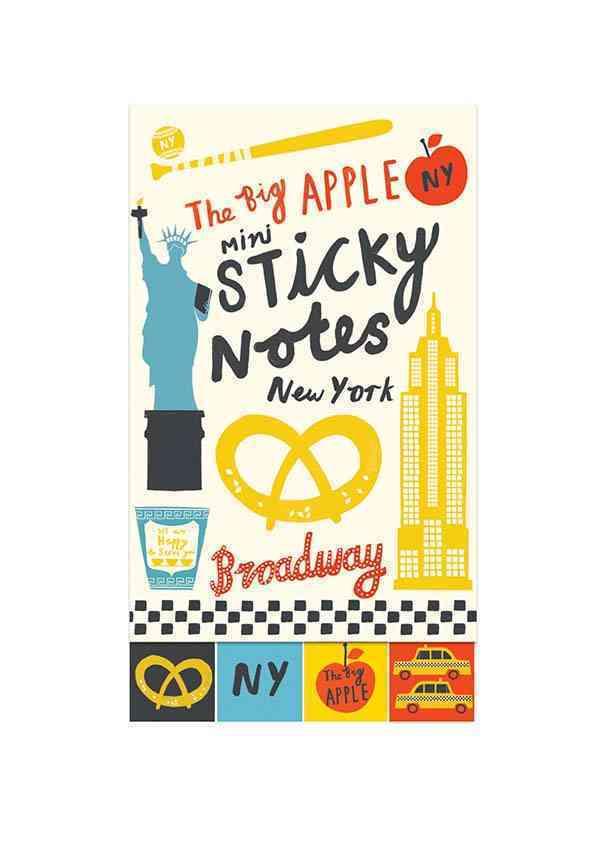 The Big Apple Mini Sticky Notes By Powell, Debbie (ILT)